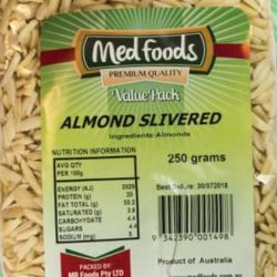 Almond Slivered