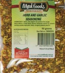 Herb and Garlic Seasoning