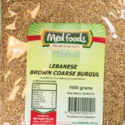 Lebanese Brown Coarse Burgul