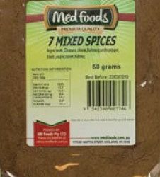 7 Mixed Spices