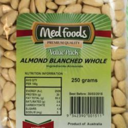 Almond Blanched Whole