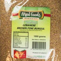 Lebanese Brown Fine Burgul