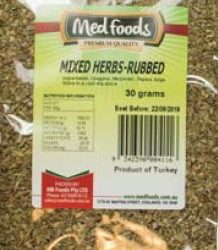 Mixed Herbs — Rubbed