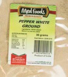 Pepper White Ground