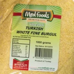 Turkish White Fine Burgul