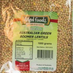 Australian Green Bloomer Lentils