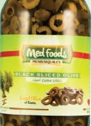 Black Sliced Olive