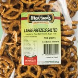 Pretzels Salted Large