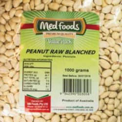 Peanut Raw Blanched