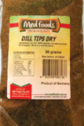 Dill Tips Dry